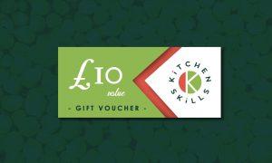 £10 Kitchen Skills Gift Voucher