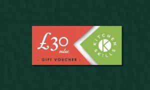 £30 Kitchen Skills Gift Voucher
