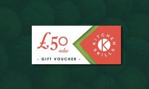 £50 Kitchen Skills Gift Voucher